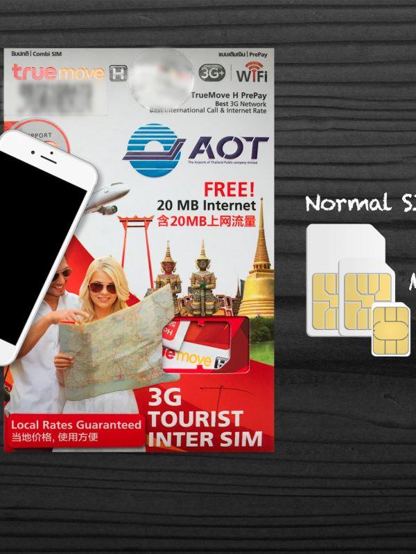 mobilní internet v Thajsku