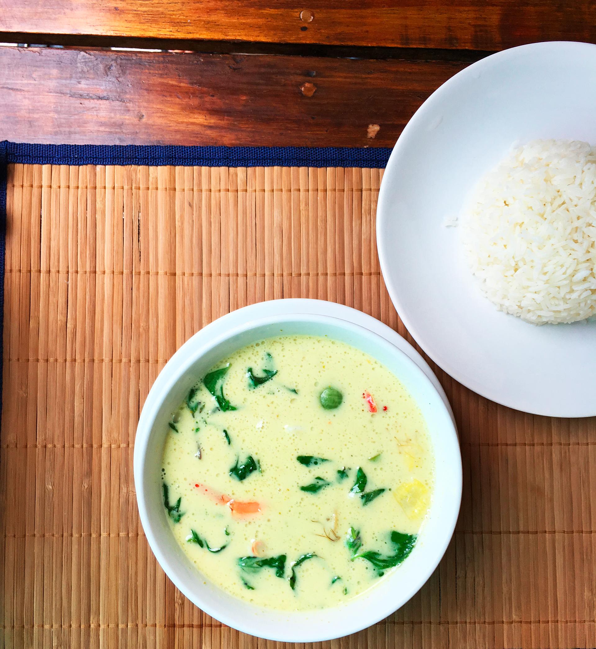 Ceny vthajské restauraci