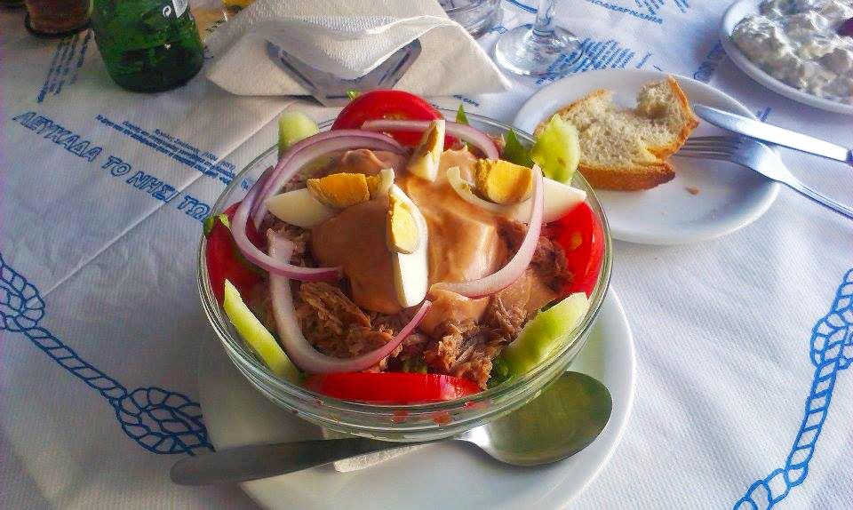 Večeře na Lefkadě
