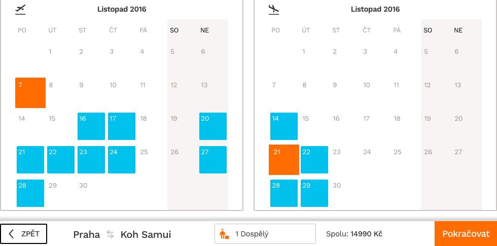 Letenky na Koh Samui