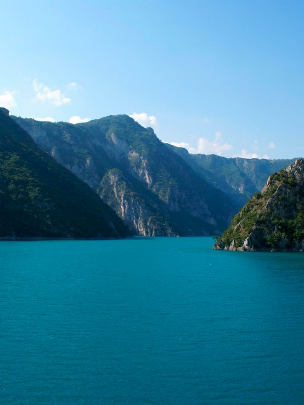 počasí v Černé hoře