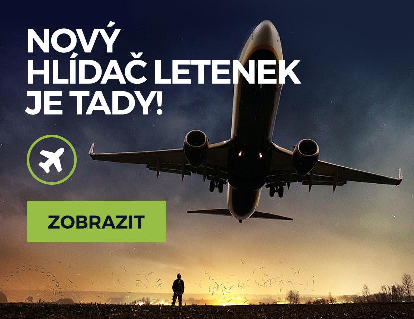 Hlídač letenek CestujSnadno.cz