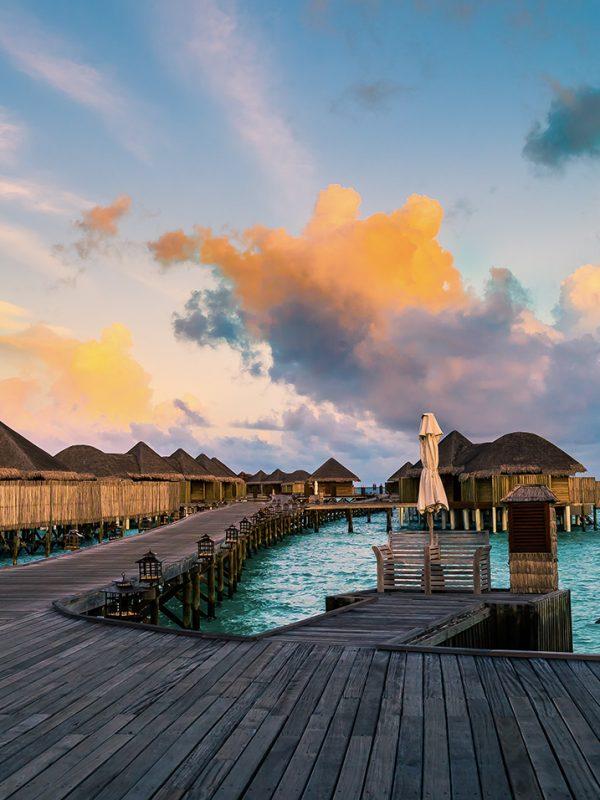 Levné letenky na Maledivy - FlyDubai