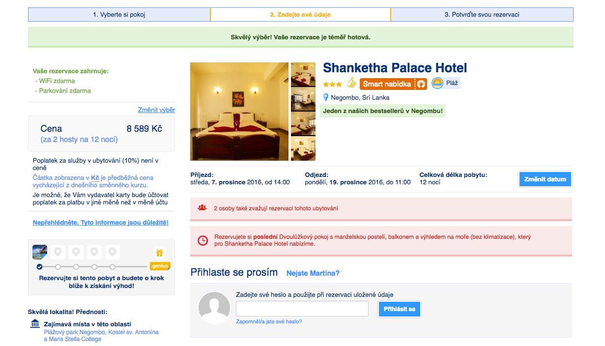 Dovolená na Srí Lance - ubytování