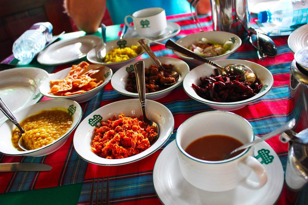 Srí Lanka - kuchyně