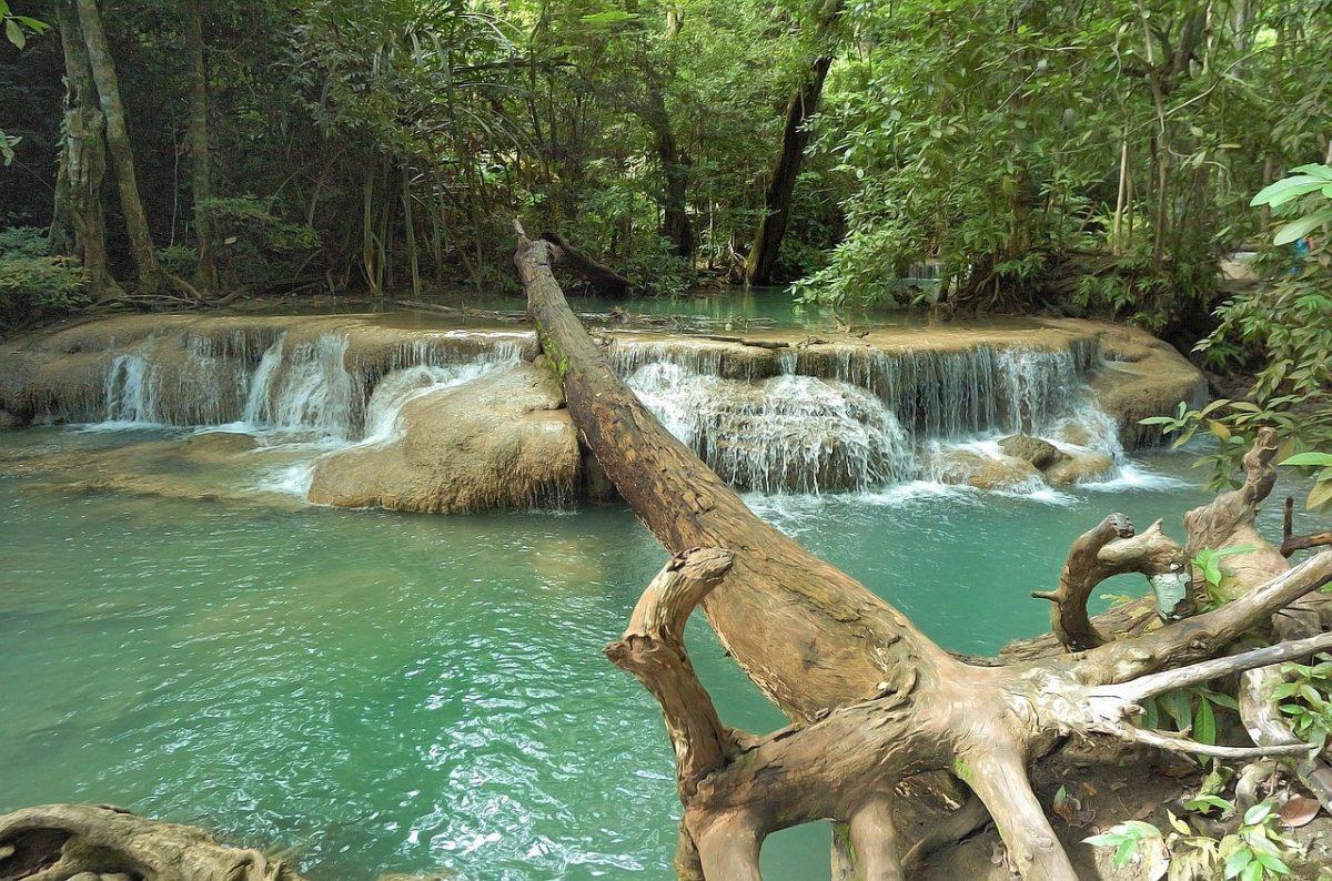 Erawan národní park Thajsko