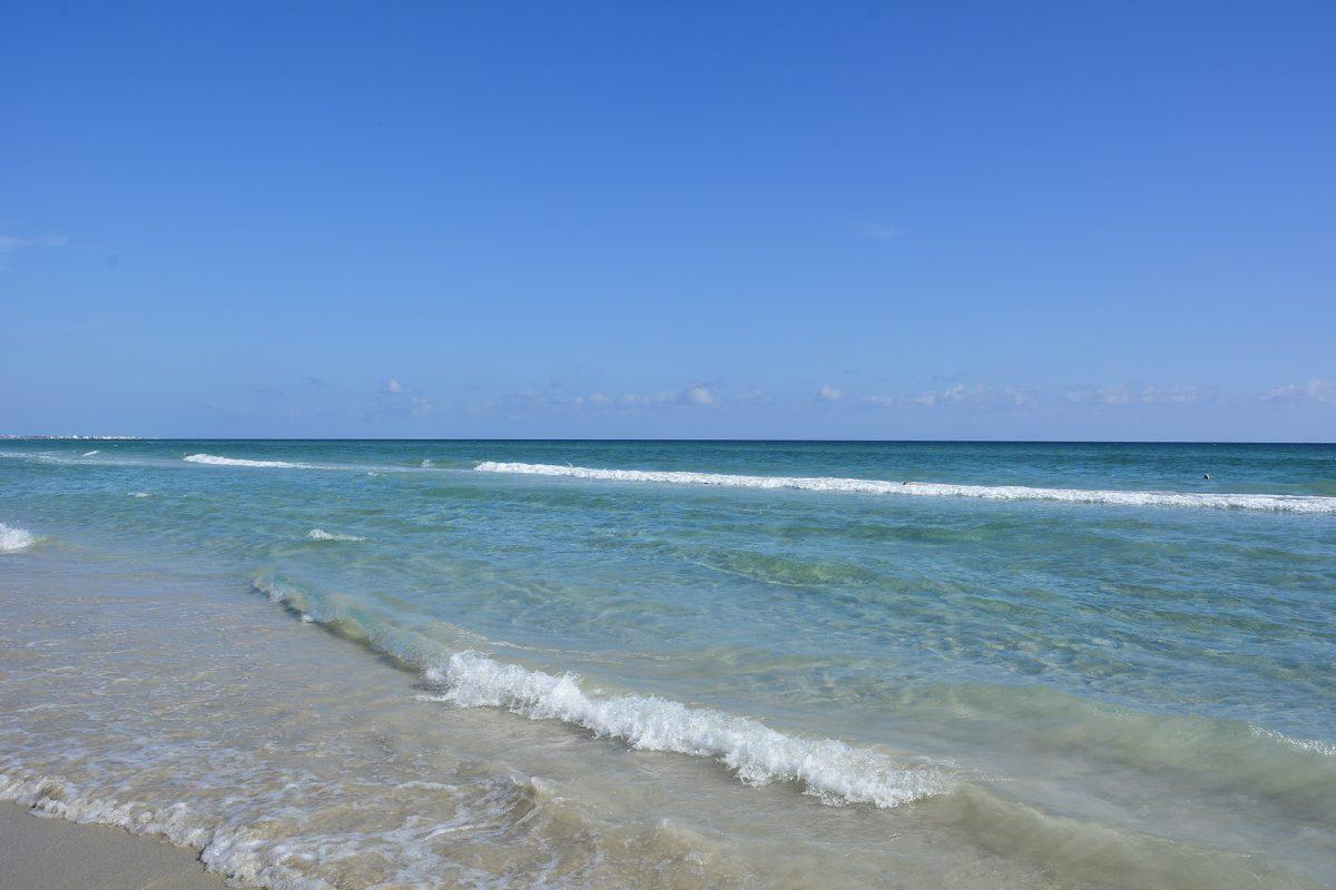 Moře a pláže v Tunisku