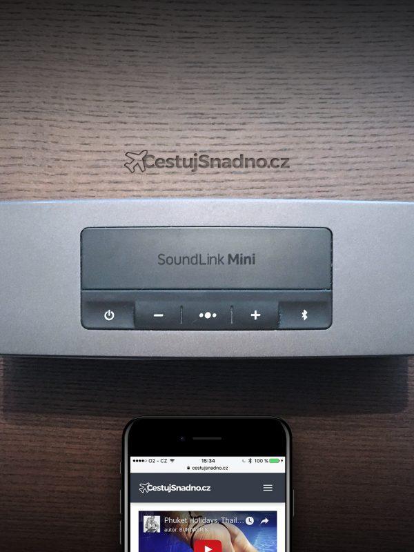 Přenosný reproduktor Bose Sound Link Mini II