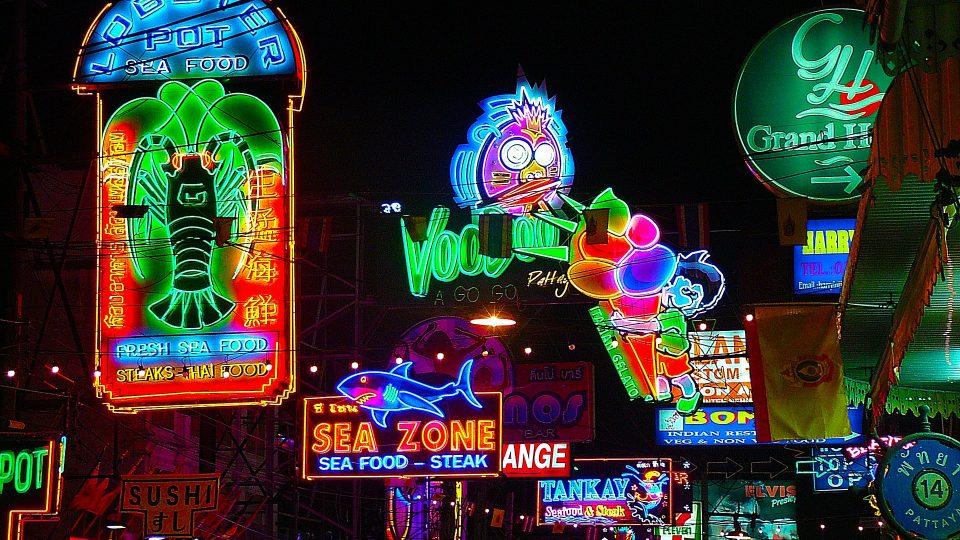 Noční život Pattaya, Thajsko