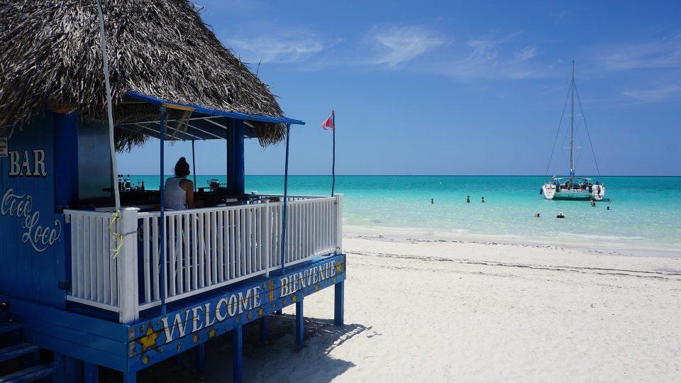 Cayo Coco ostrov - Kuba