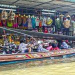 Plovoucí trh Damnoen Saduak