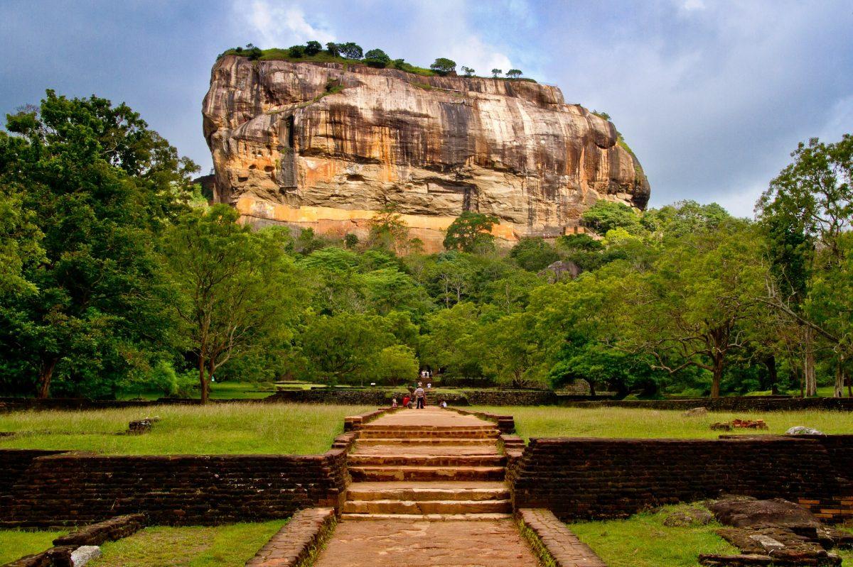 Sigiriya, skalní pevnost na Srí Lance