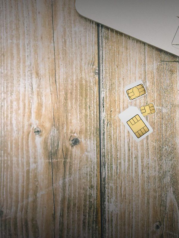SIM karta iPhone