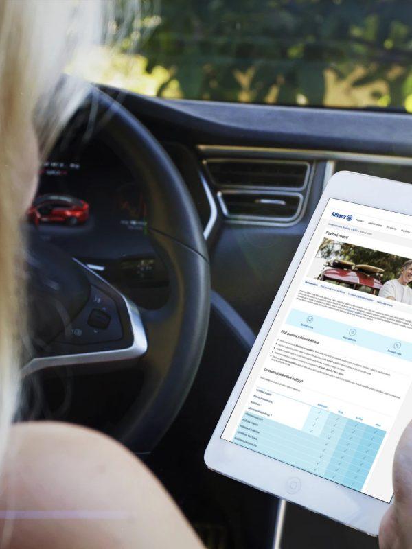 Allianz pojištění auta - kalkulačka povinného ručení