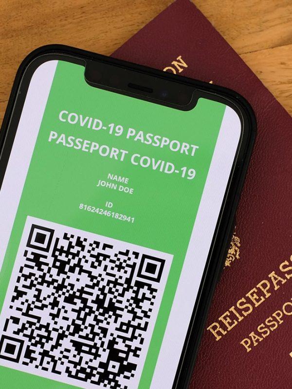 Covid pas ulehčí cestování