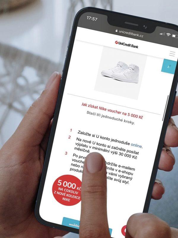 UniCredit Bank bonus 5000 Kč za založení účtu