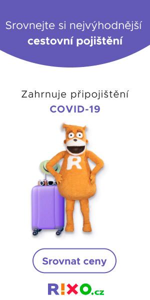 Cestovní pojištění Covid-19 srovnání RIXO